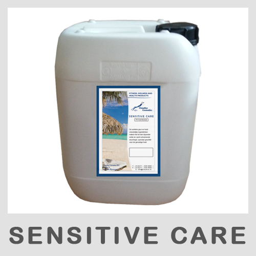 Claudius Showergel Sensitive Care - 10 liter